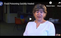 Food poisoning quickly healed