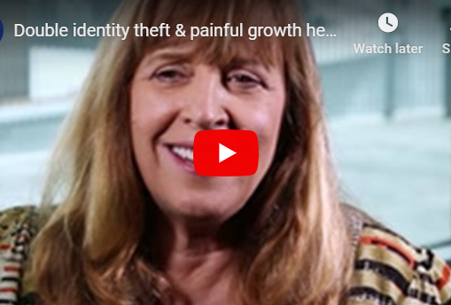 Identity theft & painful growth healed