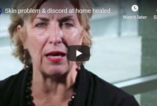 Skin problem & discord at home healed