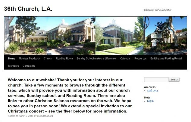 Thirty-sixth Church of Christ, Scientist, Los Angeles - Studio City