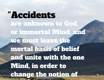 Accidents unknown to God
